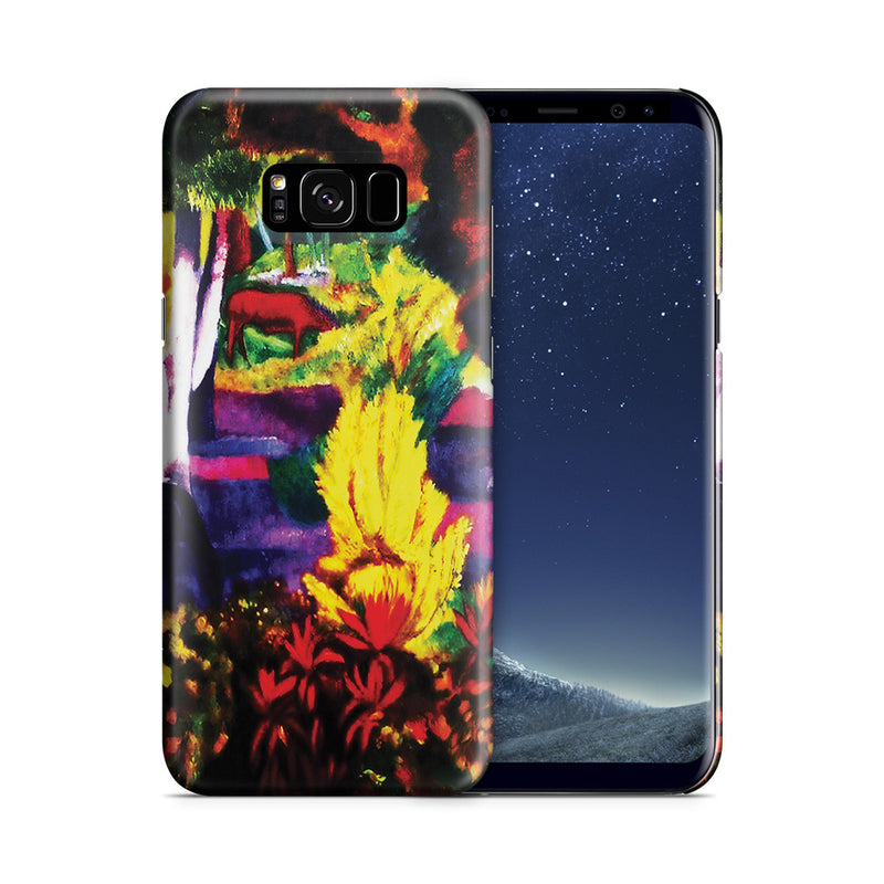 Galaxy S8 Plus Case - Marquesan Landscape with Horses, 1901 by Paul Gauguin