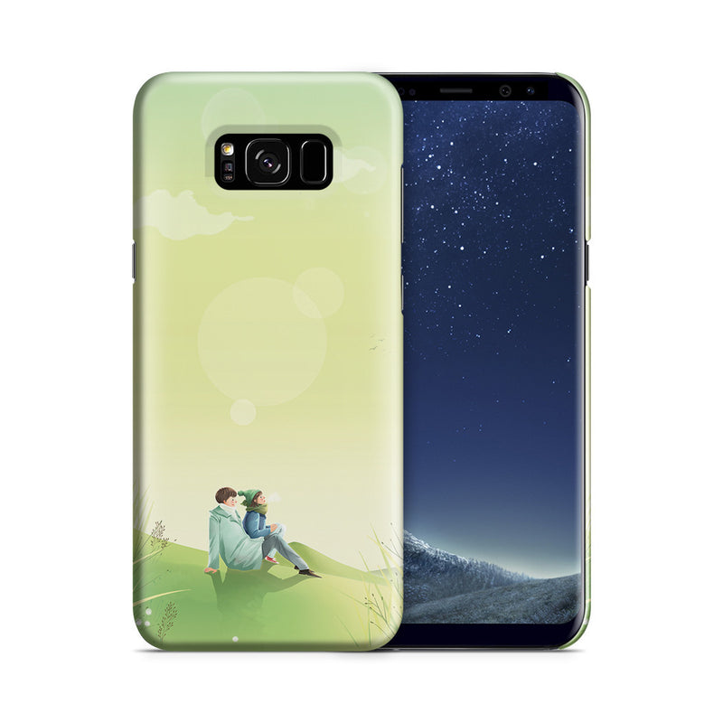 Galaxy S8 Plus Case - Two of Us Lost in Space and Time Forever