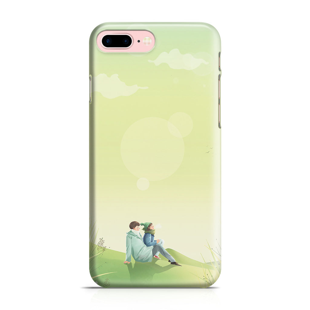iPhone 7 Plus Case - Two of Us Lost in Space and Time Forever