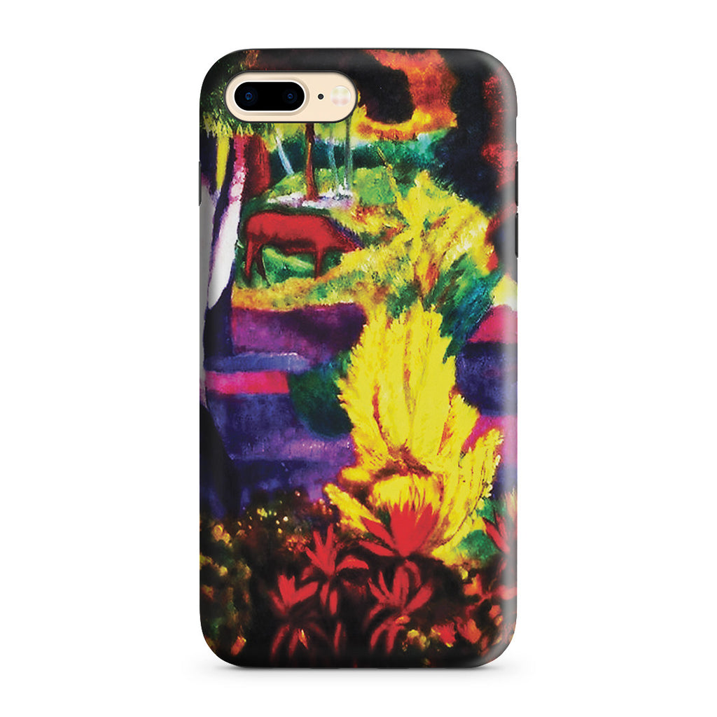 iPhone 7 Plus Adventure Case - Marquesan Landscape with Horses, 1901 by Paul Gauguin