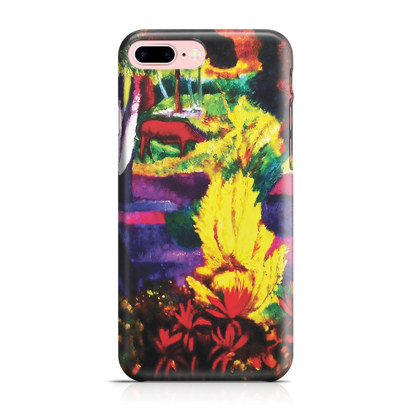 iPhone 7 Plus Case - Marquesan Landscape with Horses, 1901 by Paul Gauguin