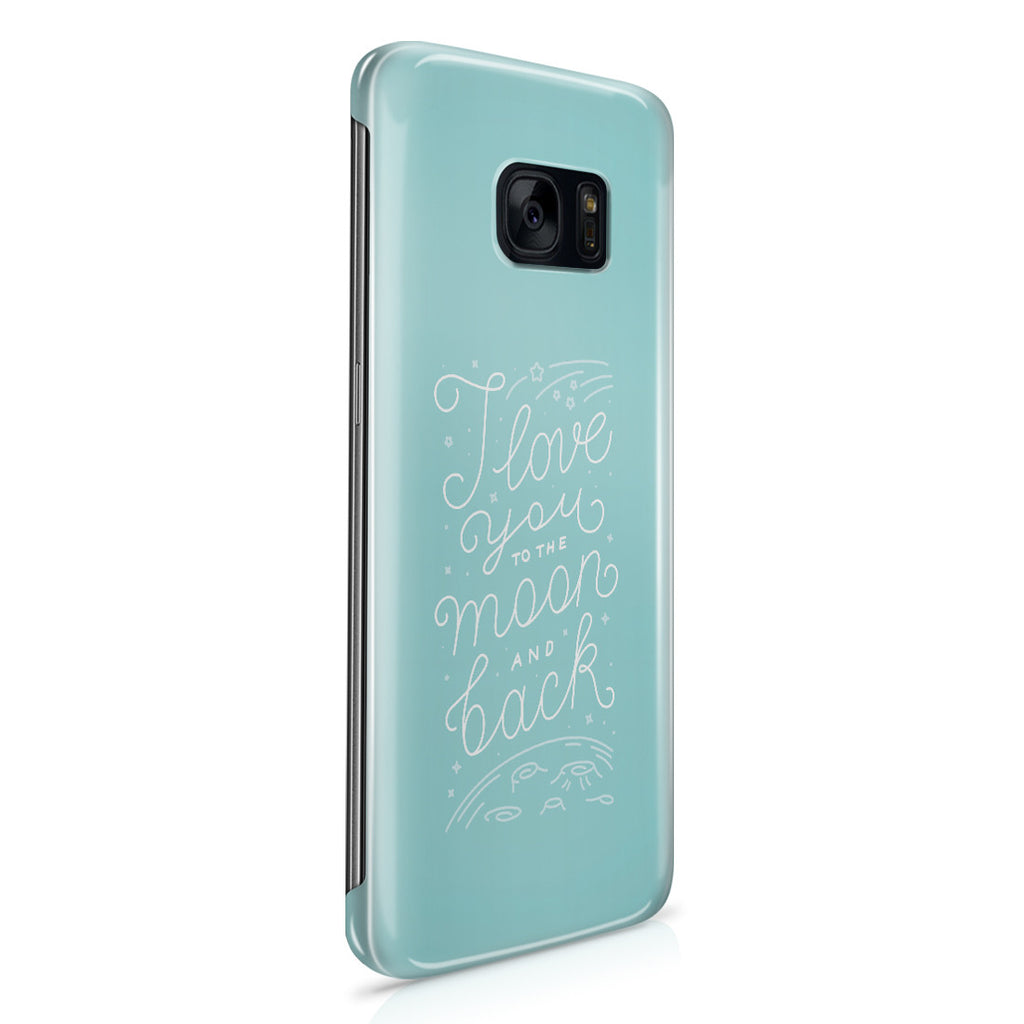 Galaxy S7 Edge Case - Love Knows No Bounds