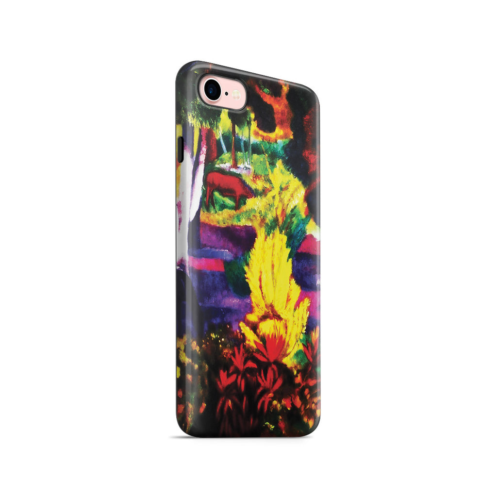 iPhone 7 Adventure Case - Marquesan Landscape with Horses, 1901 by Paul Gauguin