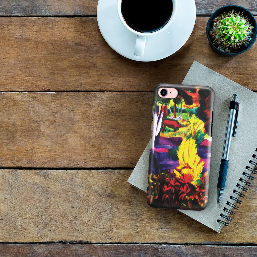 iPhone 6 | 6s Plus Adventure Case - Marquesan Landscape with Horses, 1901 by Paul Gauguin