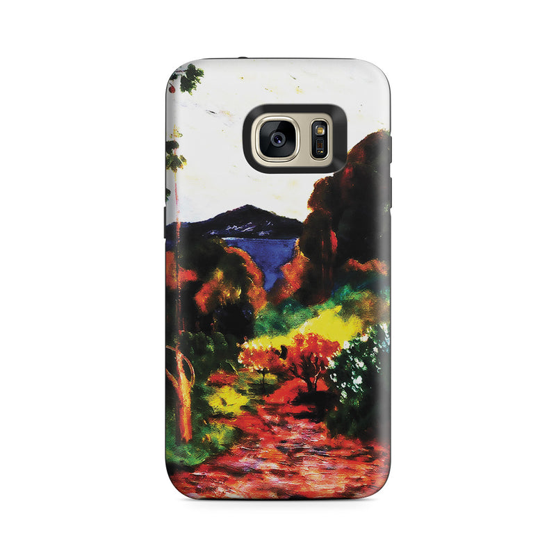 Galaxy S7 Adventure Case - Martinique Lanscape, 1887 by Paul Gauguin