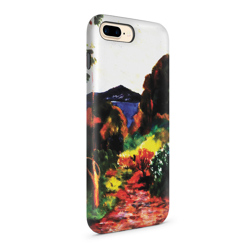 iPhone 7 Plus Adventure Case - Martinique Lanscape, 1887 by Paul Gauguin