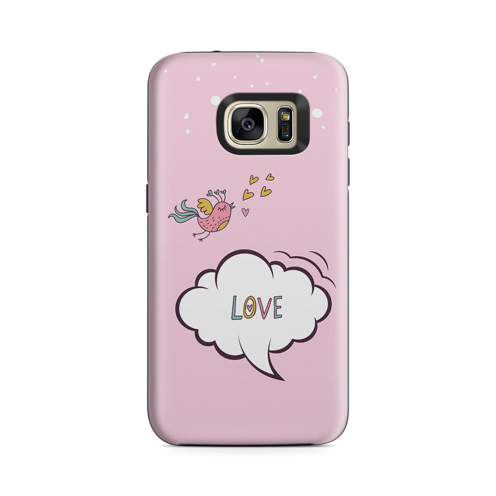 Galaxy S7 Adventure Case - Lovebird