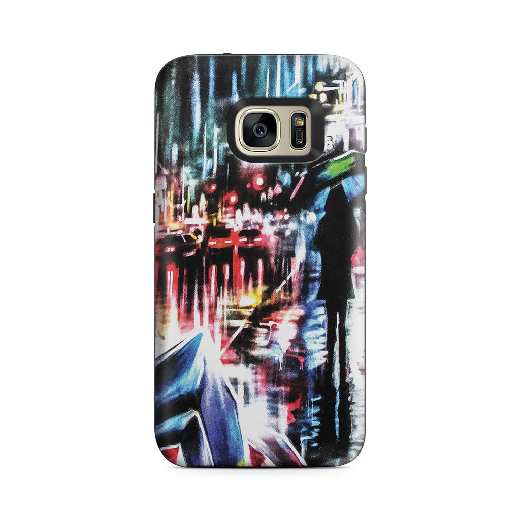 Galaxy S7 Adventure Case - Rainy Night