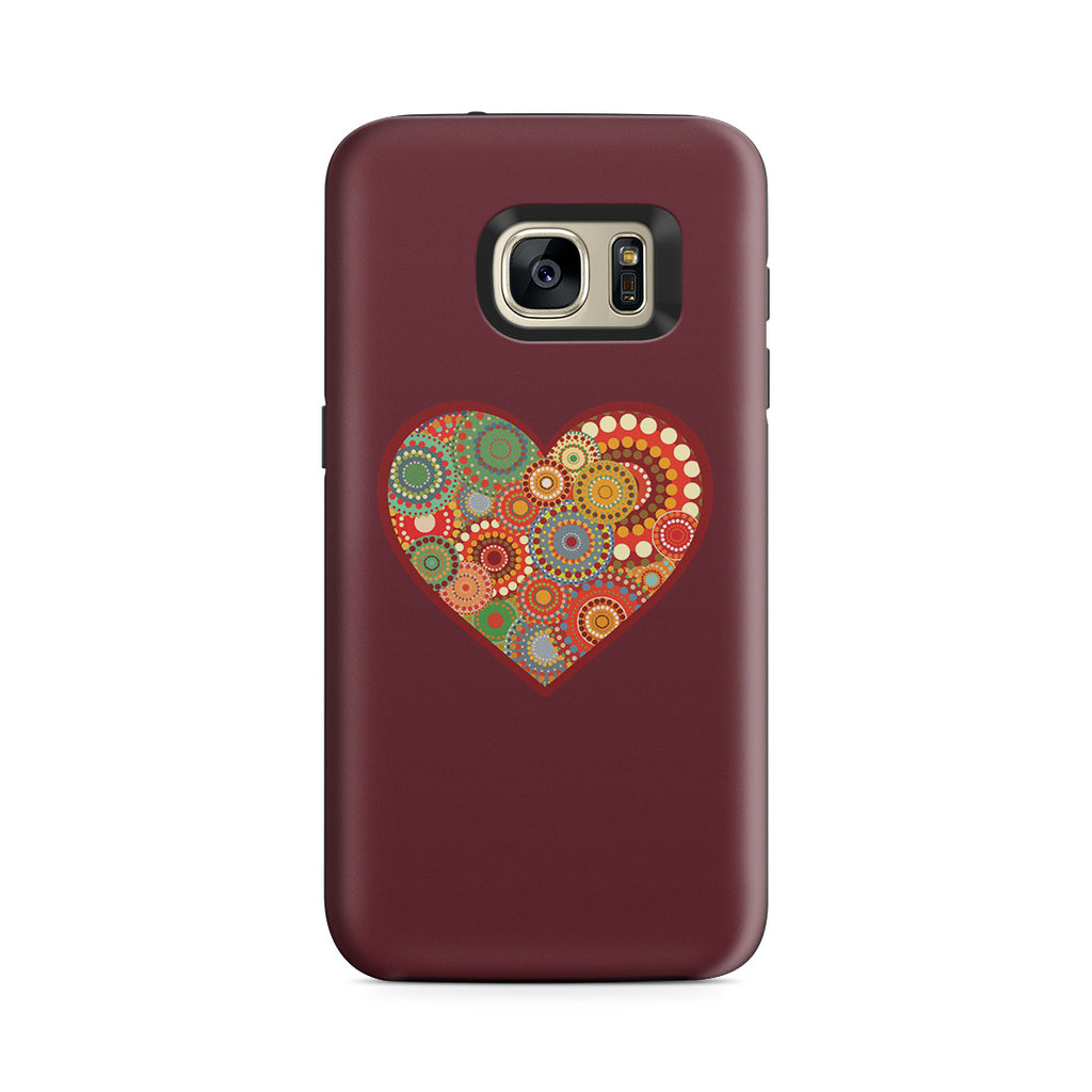 Galaxy S7 Adventure Case - Psychedelic Love
