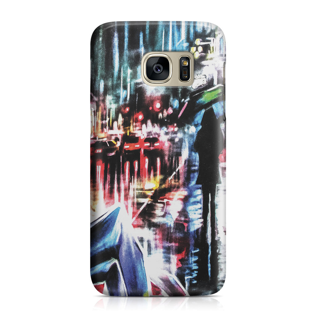 Galaxy S7  Case - Rainy Night
