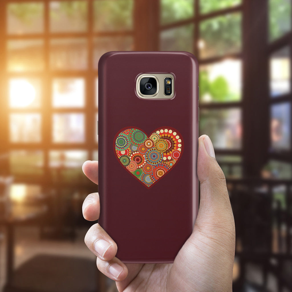Galaxy S7 Edge Case - Psychedelic Love