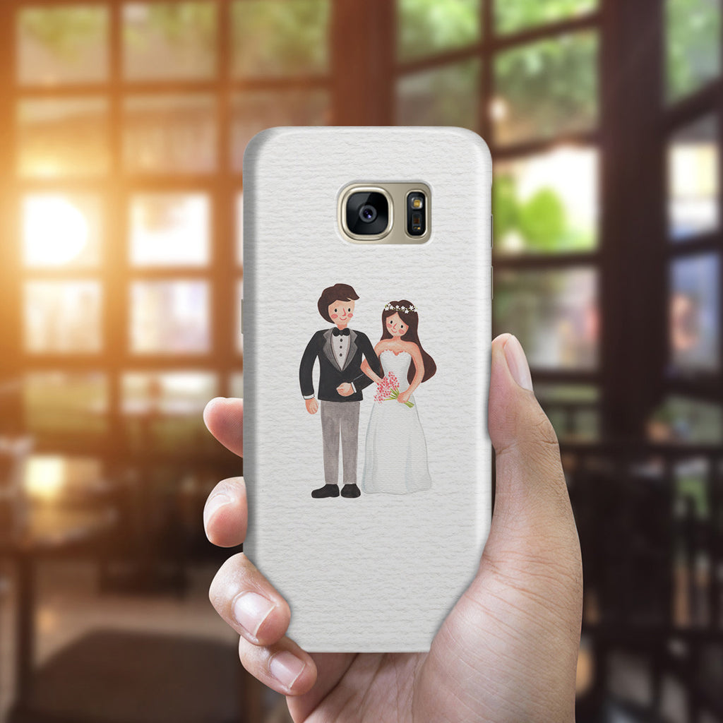 Galaxy S7 Edge Case - Mr. & Mrs.
