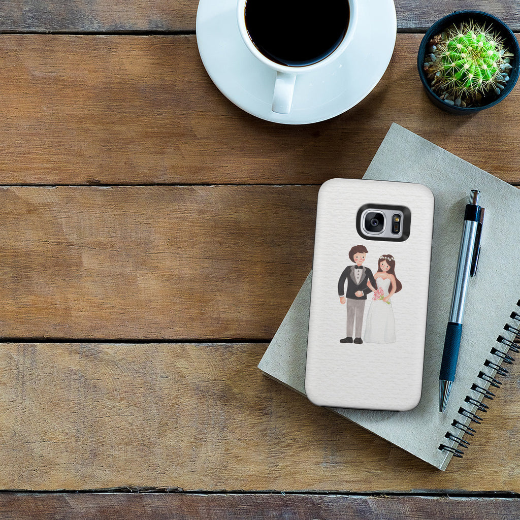 Galaxy S7 Adventure Case - Mr. & Mrs.
