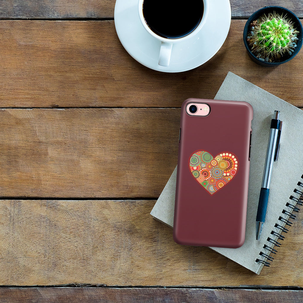 iPhone 7 Adventure Case - Psychedelic Love