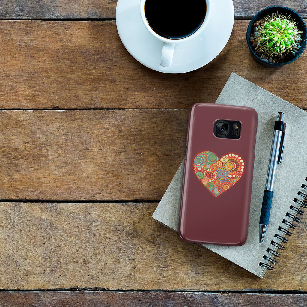 Galaxy S7 Case - Psychedelic Love