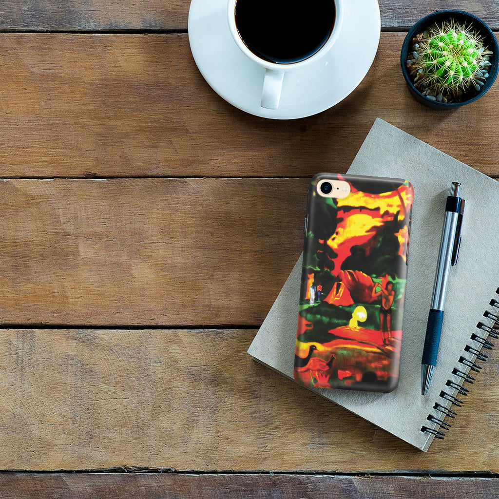 iPhone 7 Case - Matamoe (Death), Landscape with Peacokcs, 1892 by Paul Gauguin
