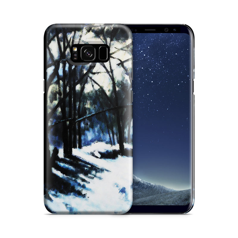 Galaxy S8 Plus Case - Melting Snow, Fontainebleau by Paul Cezanne