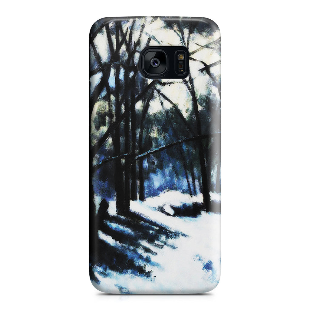 Galaxy S7 Edge Case - Melting Snow, Fontainebleau by Paul Cezanne
