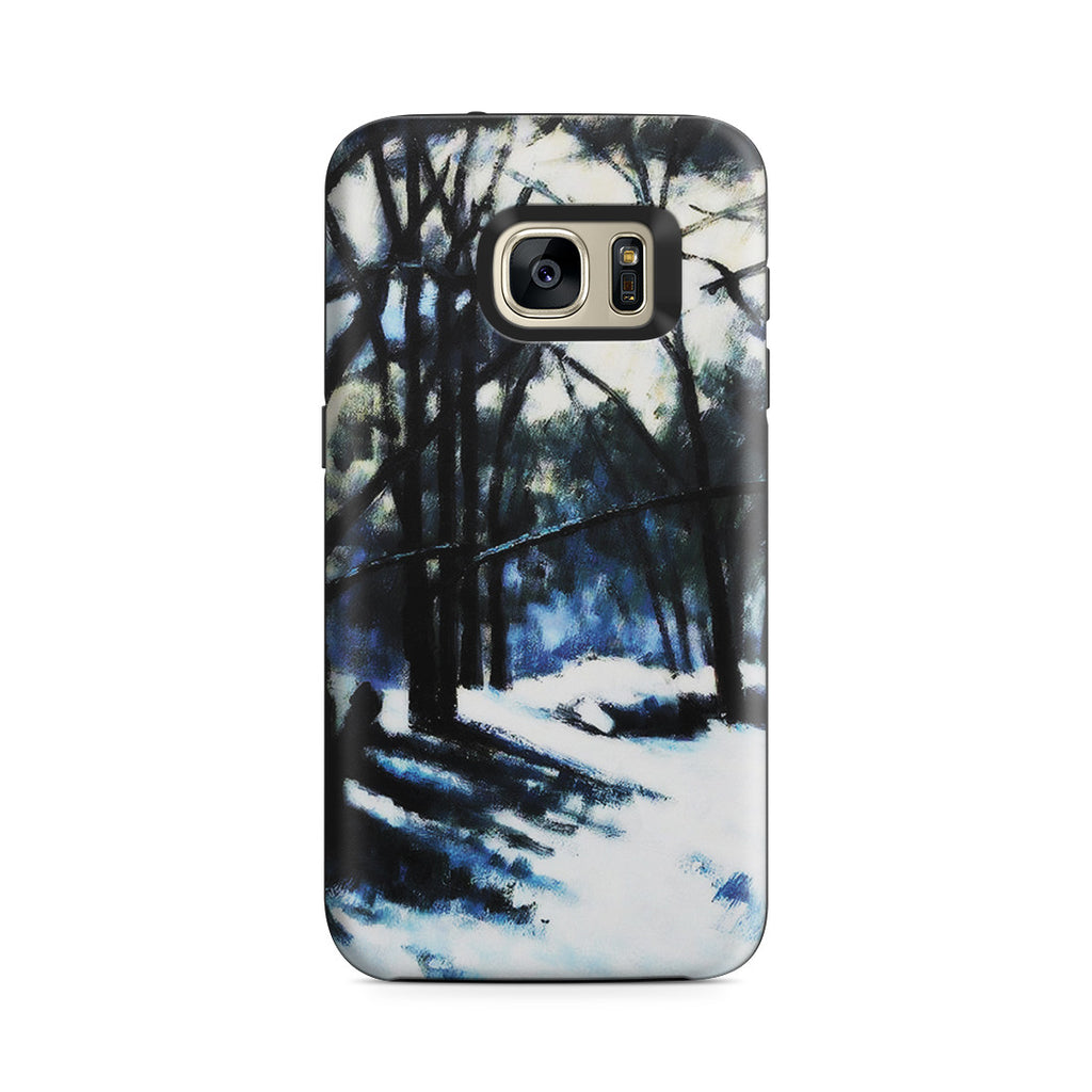 Galaxy S7 Adventure Case - Melting Snow, Fontainebleau by Paul Cezanne