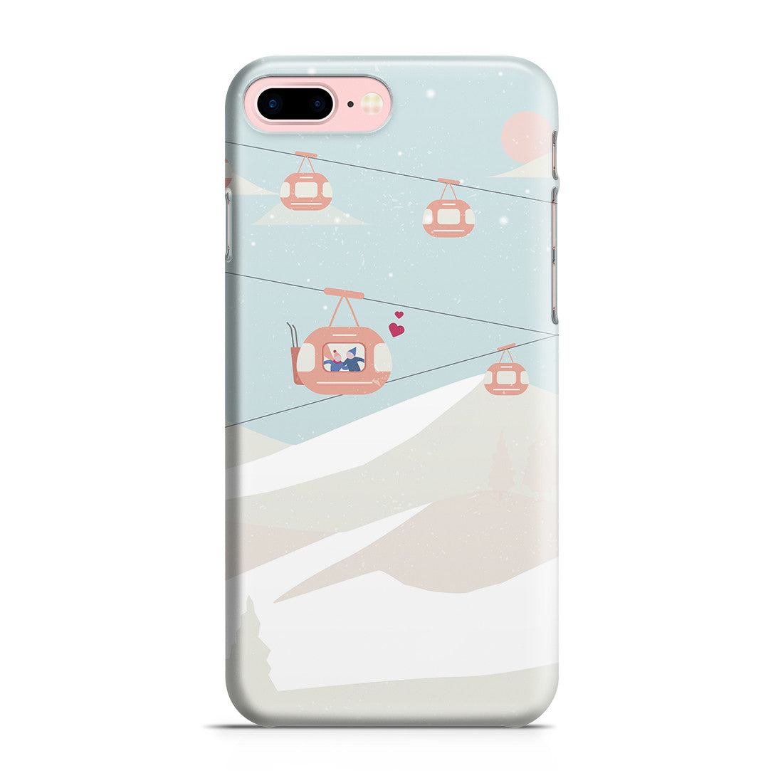 size 40 70624 d84e3 iPhone 7 Plus Case - The Most Beautiful View Is One Shared