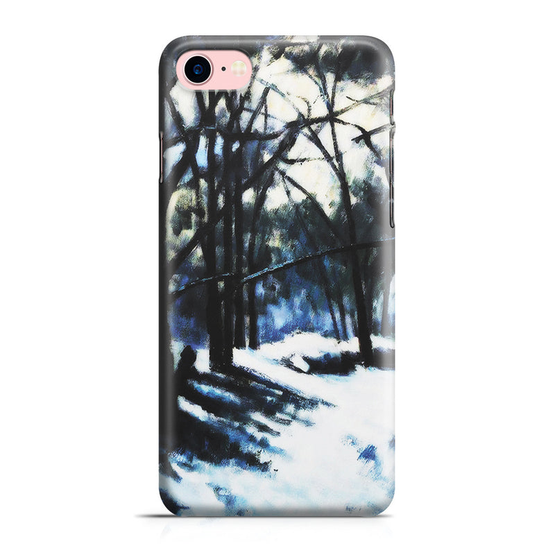 iPhone 7 Case - Melting Snow, Fontainebleau by Paul Cezanne