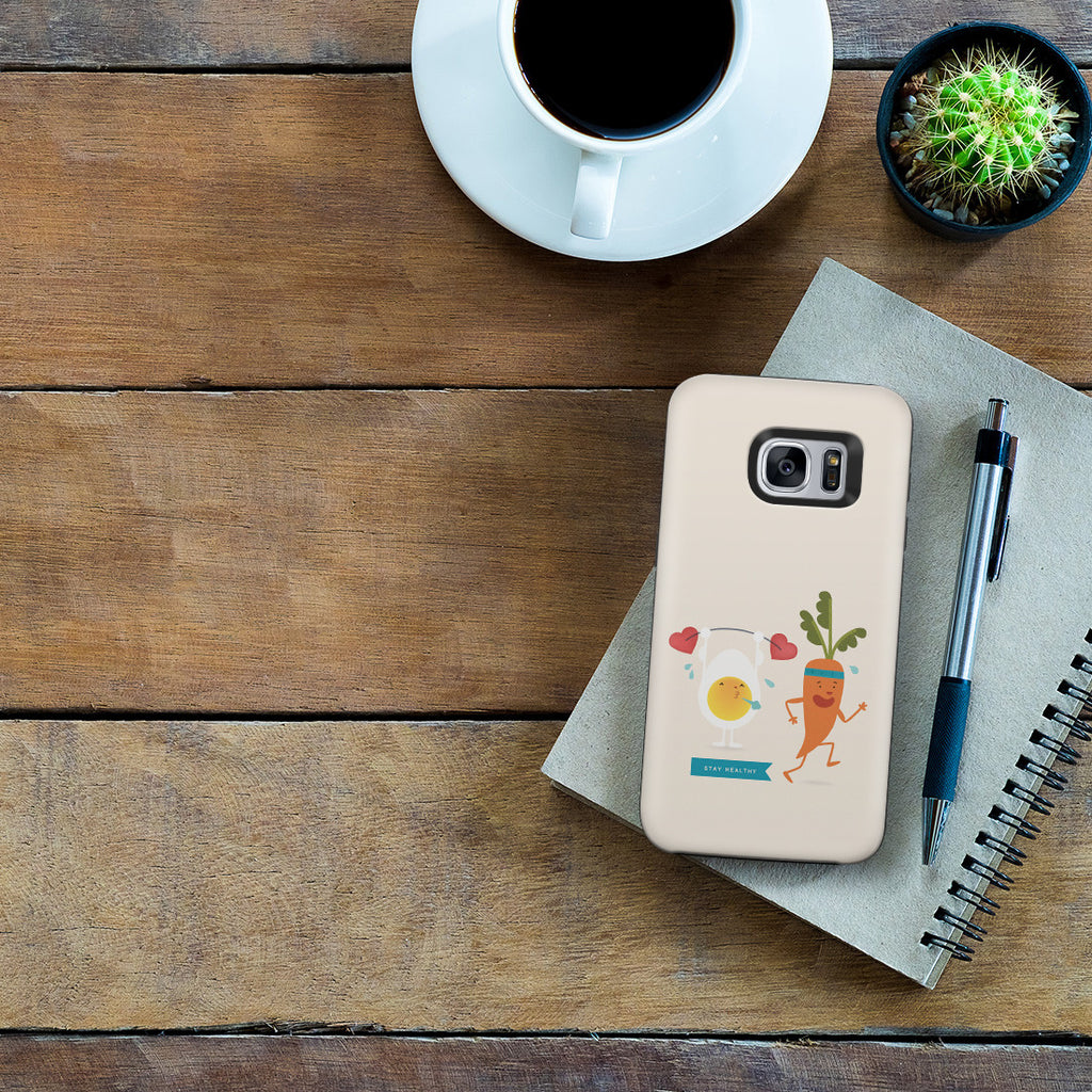 Galaxy S7 Adventure Case - Love Yourself