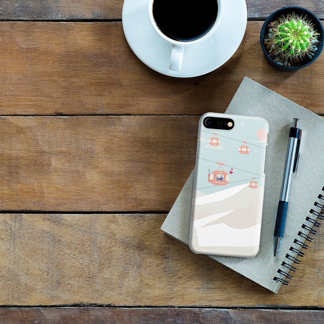 promo code e6334 08704 iPhone 8 Plus Case - The Most Beautiful View Is One Shared