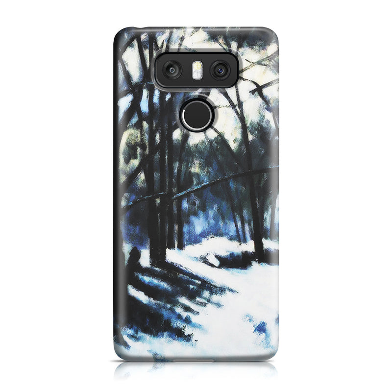 LG G6 Case - Melting Snow, Fontainebleau by Paul Cezanne