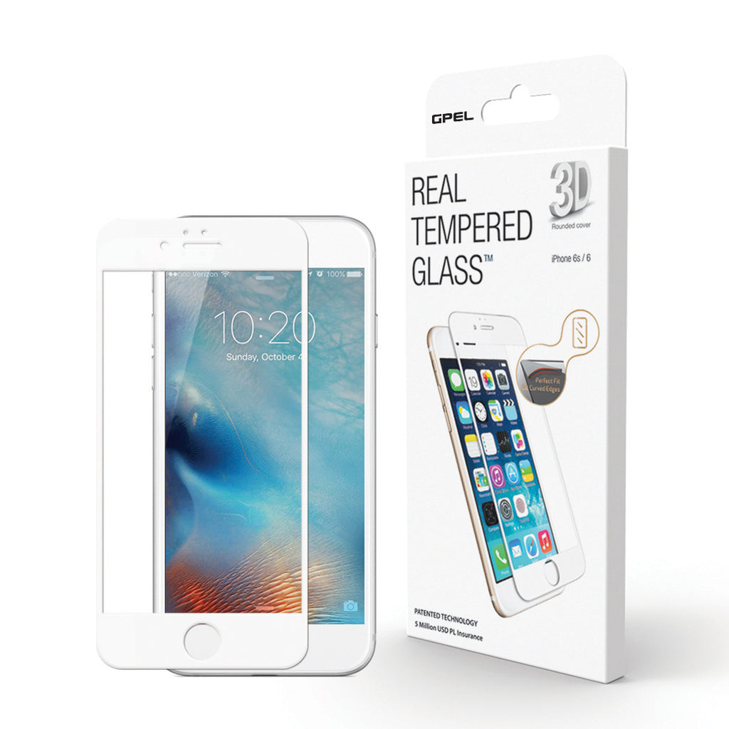 iPhone 6 | 6s Screen Protector - High-Definition (HD) 3D Curved Tempered Glass