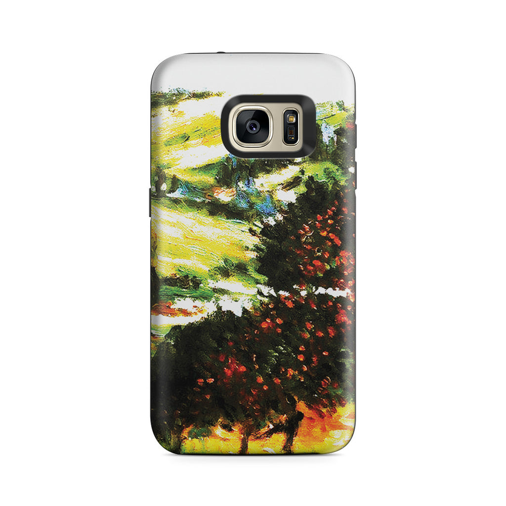 Galaxy S7 Adventure Case - Apple Trees In Bloom at Vetheuil 1887 by Claude Monet