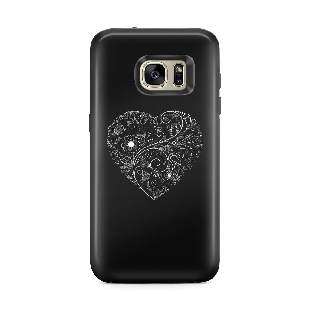 Galaxy S7 Edge Adventure Case - Paisly