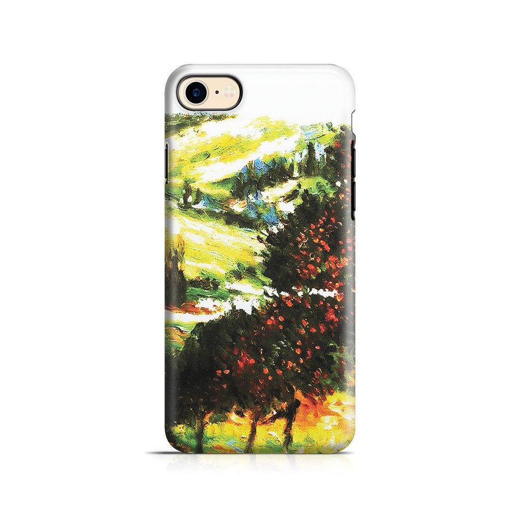 iPhone 8 Adventure Case - Apple Trees In Bloom at Vetheuil 1887 by Claude Monet