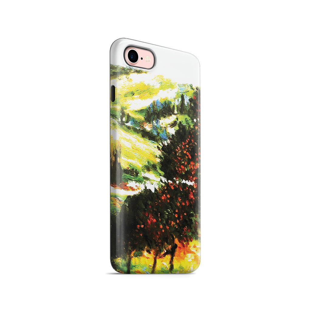 iPhone 7 Adventure Case - Apple Trees In Bloom at Vetheuil 1887 by Claude Monet