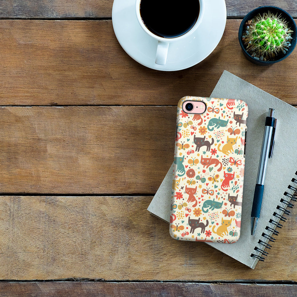 iPhone 6 | 6s Adventure Case - Crayon Cat