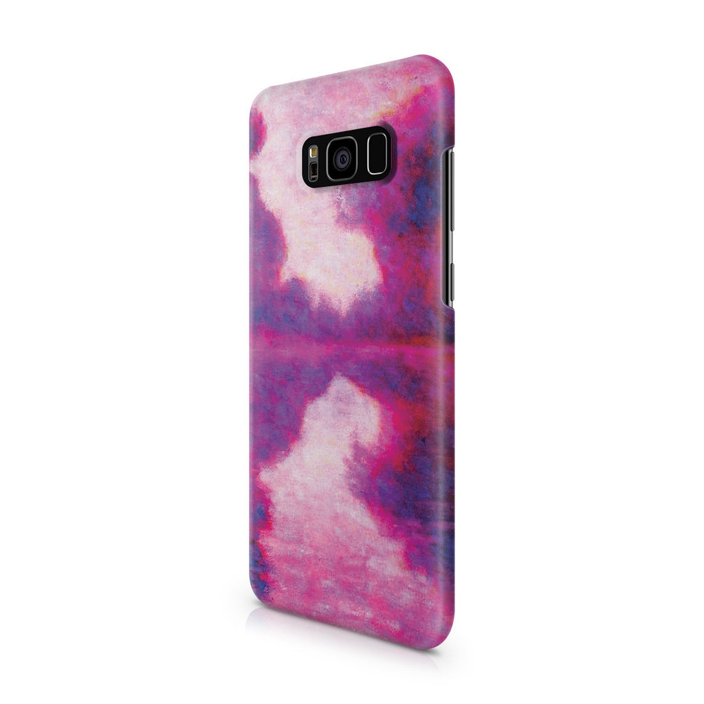 Galaxy S8 Plus Case - Misty Morning on the Seine by Claude Monet
