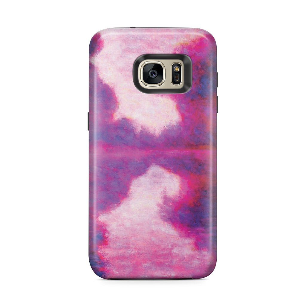 Galaxy S7 Edge Adventure Case - Misty Morning on the Seine by Claude Monet