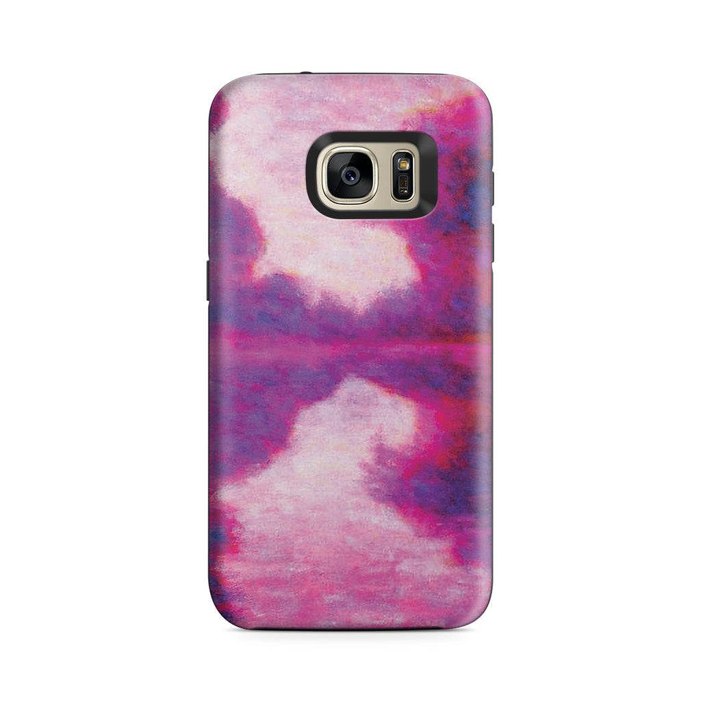 Galaxy S7 Adventure Case - Misty Morning on the Seine by Claude Monet