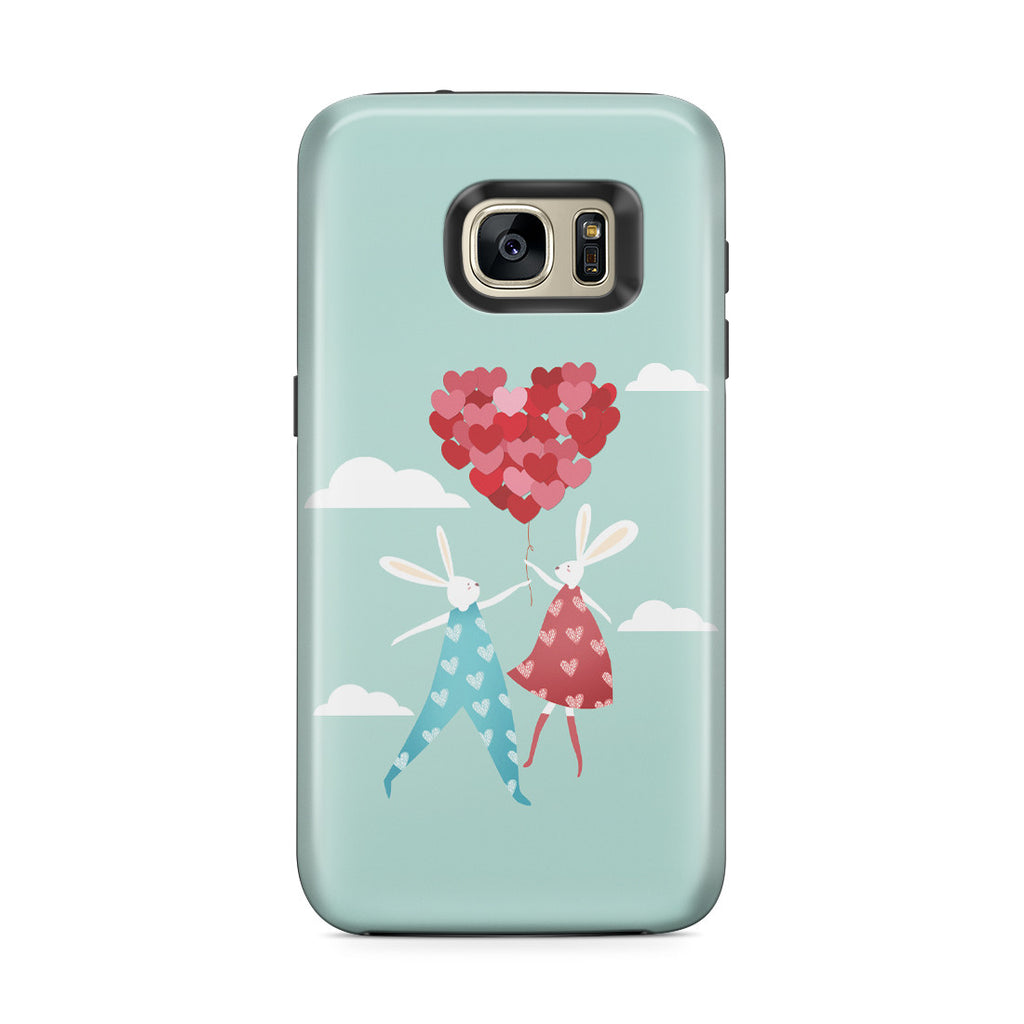 Galaxy S7 Edge Adventure Case - I Love You to the Moon and Back