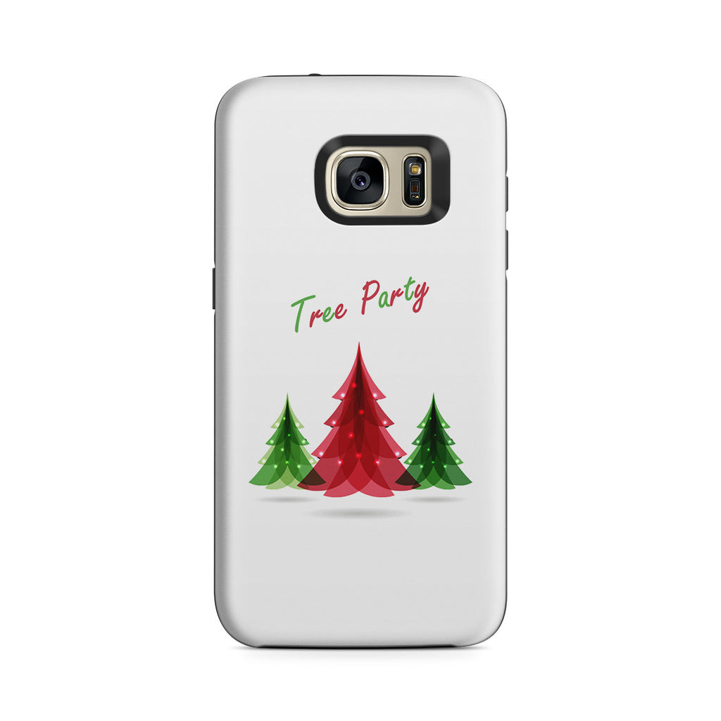 Galaxy S7 Adventure Case - Tree Festival