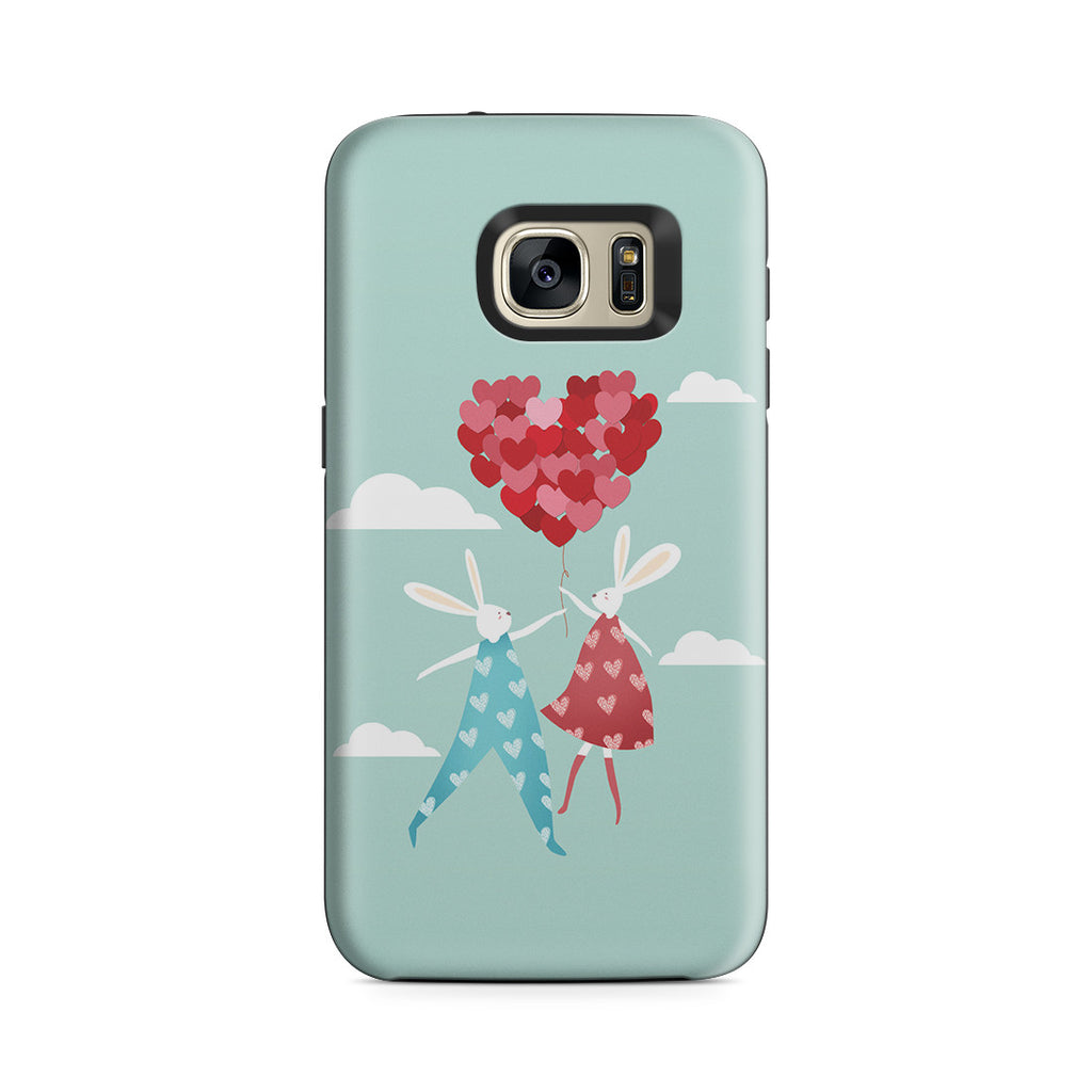 Galaxy S7 Adventure Case - I Love You to the Moon and Back