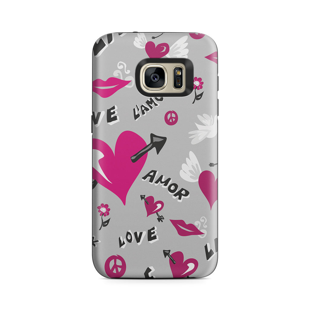 Galaxy S7 Adventure Case - Love is Universal