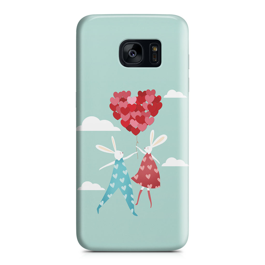 Galaxy S7 Edge Case - I Love You to the Moon and Back