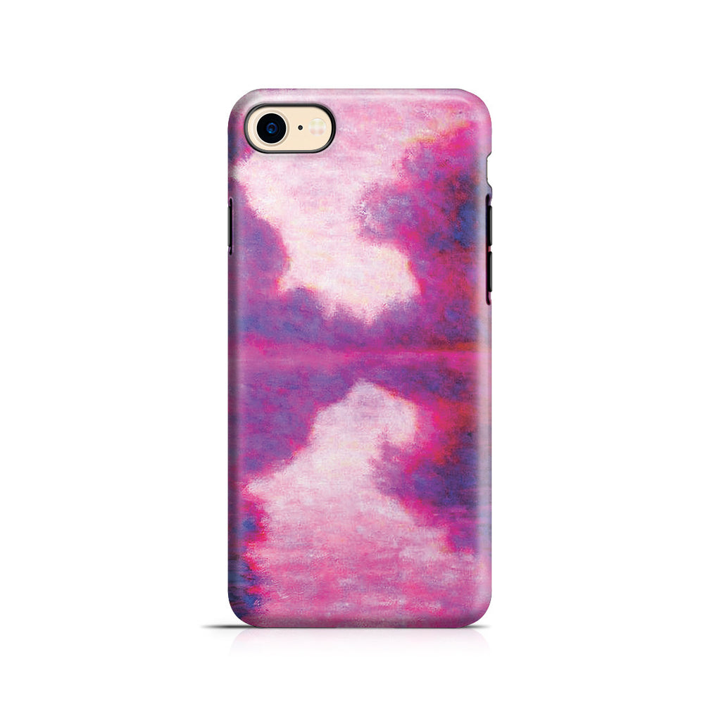 iPhone 7 Adventure Case - Misty Morning on the Seine by Claude Monet