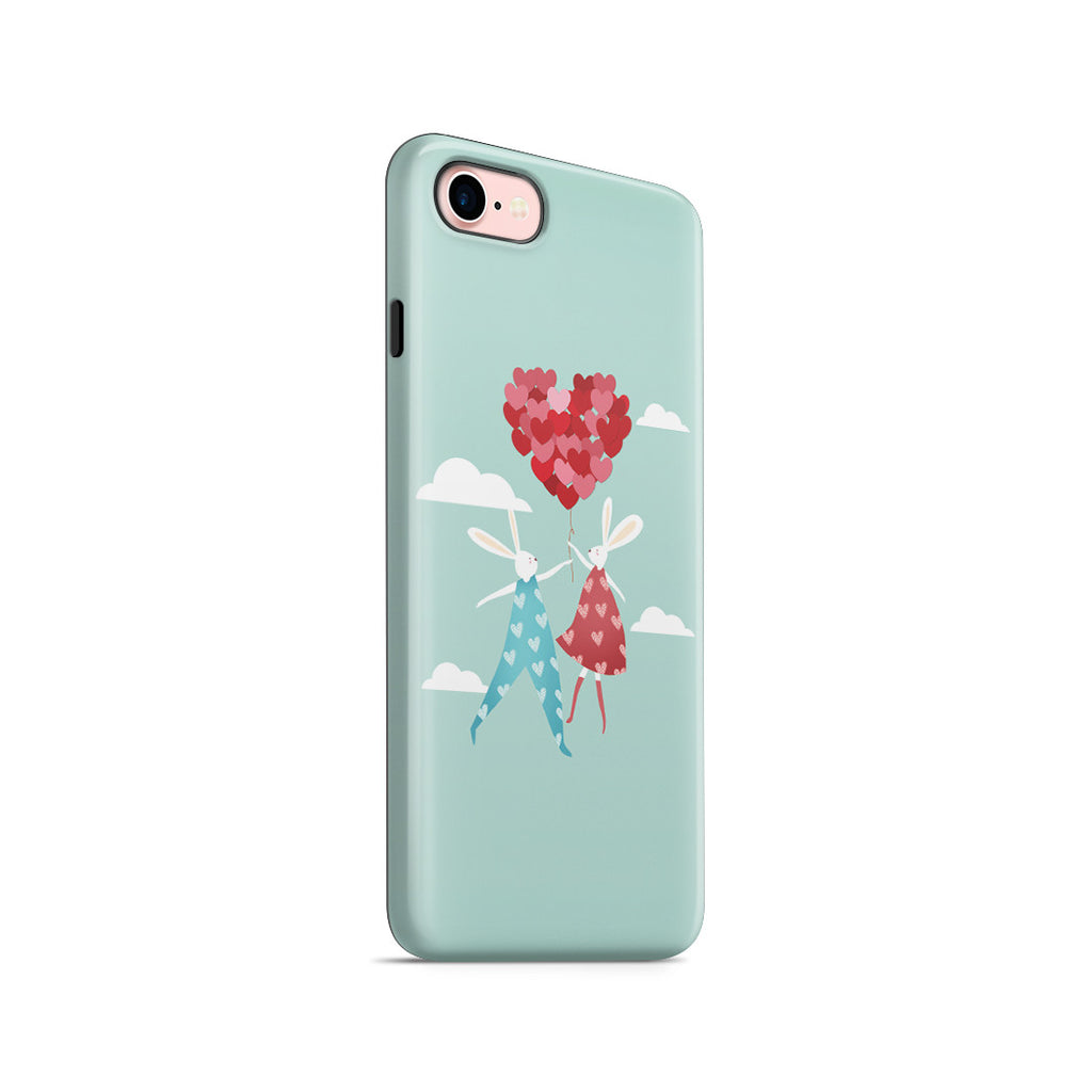 iPhone 7 Adventure Case - I Love You to the Moon and Back