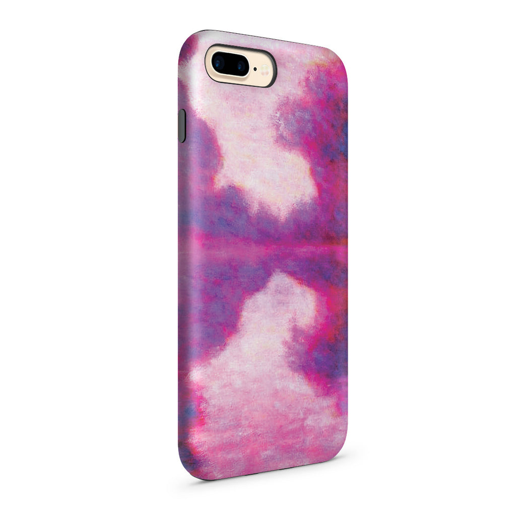 iPhone 7 Plus Adventure Case - Misty Morning on the Seine by Claude Monet