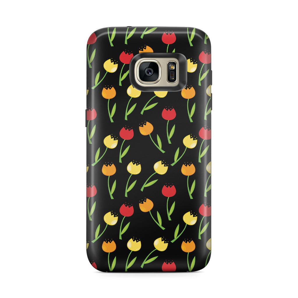 Galaxy S7 Edge Adventure Case - Tulip