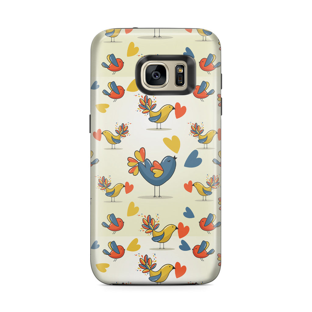 Galaxy S7 Edge Adventure Case - Birds of a Feather Flock Together