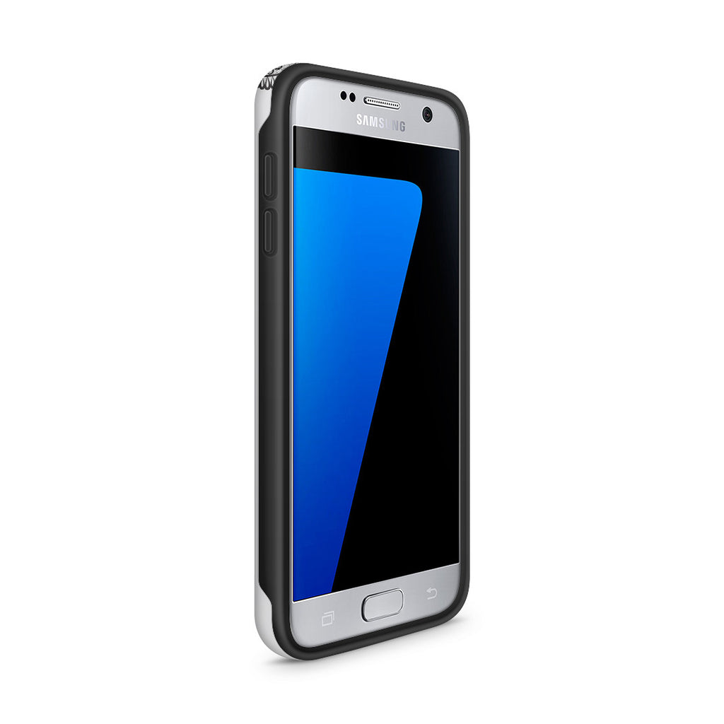 Galaxy S7 Adventure Case - Silver Silhouette