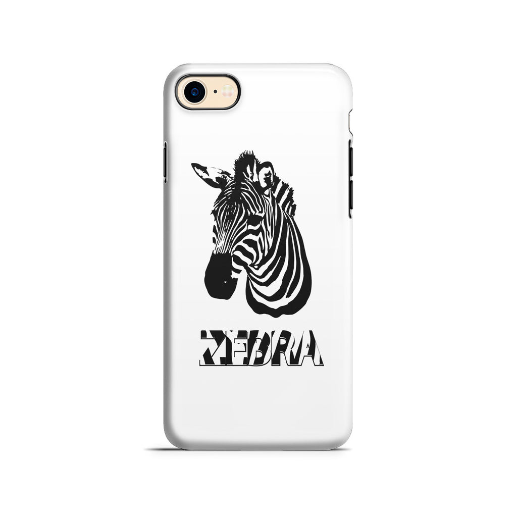 iPhone 7 Adventure Case - Zebra