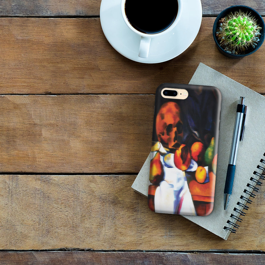 iPhone 7 Plus Adventure Case - Nature Morte au Crane By Paul Cezanne